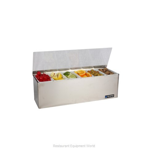 San Jamar B6186L Bar Condiment Server Countertop