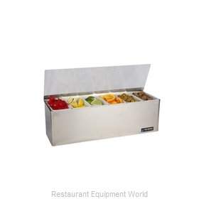 San Jamar B6186L Bar Condiment Server, Countertop