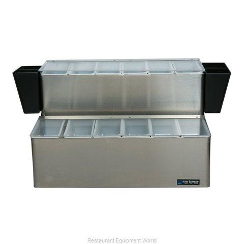 San Jamar B6766L Bar Condiment Server, Countertop