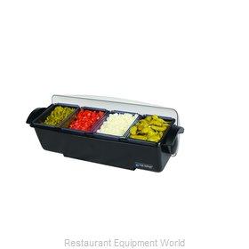 San Jamar BD4004 Bar Condiment Server, Countertop