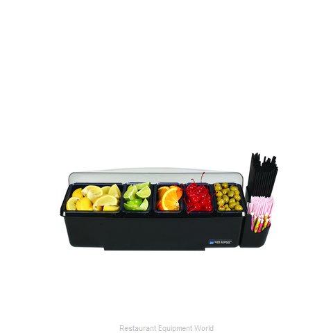 San Jamar BD4005E Bar Condiment Server, Countertop