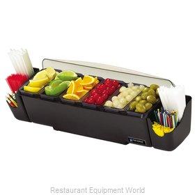San Jamar BD4006S Bar Condiment Server, Countertop