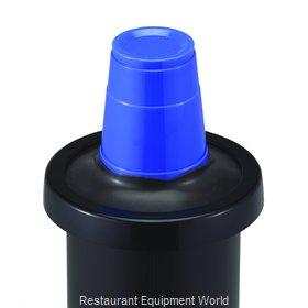 San Jamar C2410CBK Cup Dispensers, In-Counter