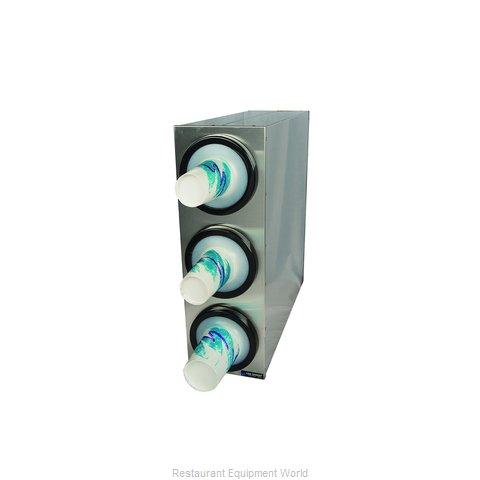 San Jamar C2803 Cup Dispensers, Countertop