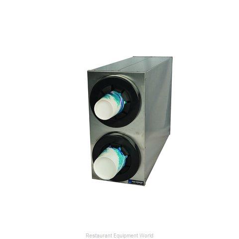 San Jamar C2852 Cup Dispensers, Countertop