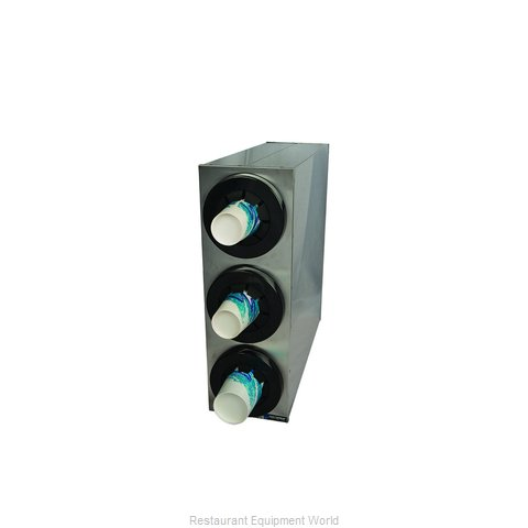 San Jamar C2853 Cup Dispensers, Countertop