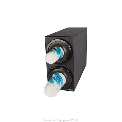San Jamar C2902BK Cup Dispensers, Countertop