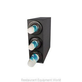 San Jamar C2903BK Cup Dispensers, Countertop