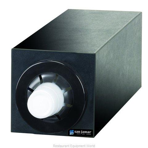San Jamar C2951BK Cup Dispensers, Countertop