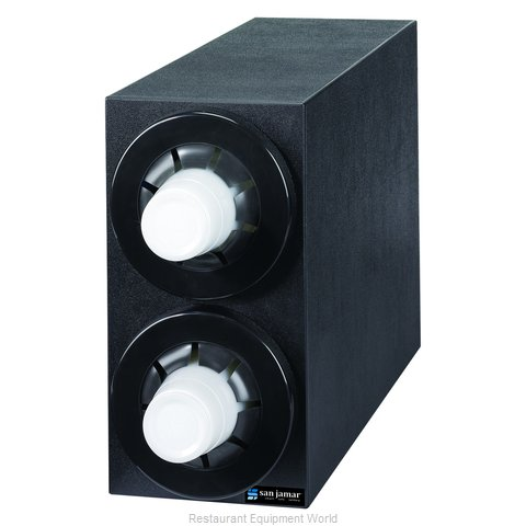 San Jamar C2952BK Cup Dispensers, Countertop