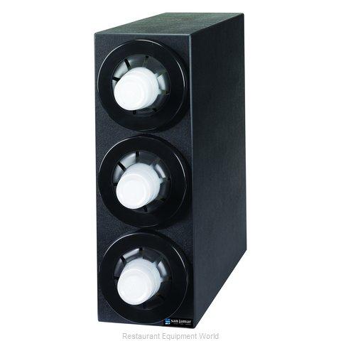 San Jamar C2953BK Cup Dispensers, Countertop