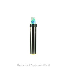 San Jamar C3500EF Cup Dispensers, Surface Mount