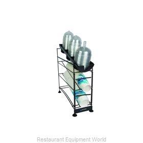 San Jamar C8503WFD Cup Dispensers, Countertop