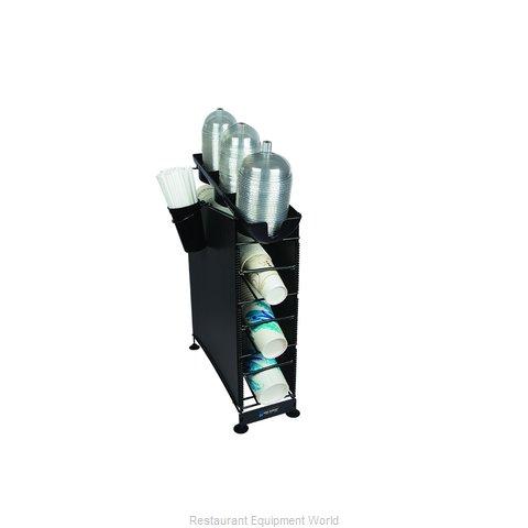San Jamar C8504WFD Cup Dispensers, Countertop
