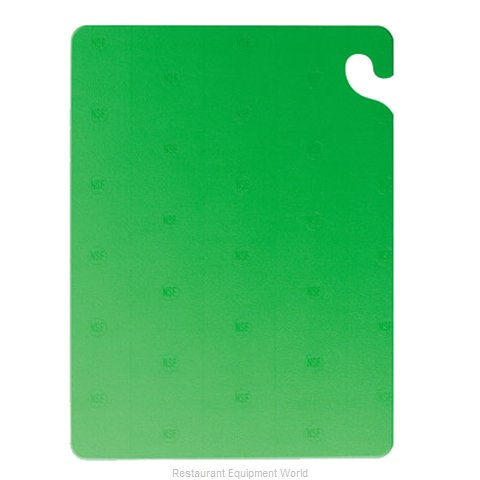 San Jamar CB101212GN Cutting Board, Plastic