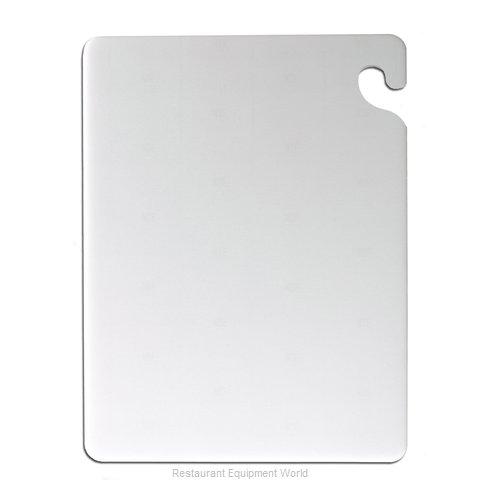 San Jamar CB101212WH Cutting Board, Plastic