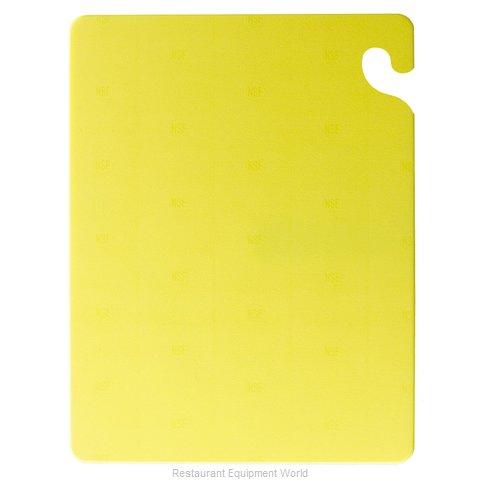 San Jamar CB101212YL Cutting Board, Plastic