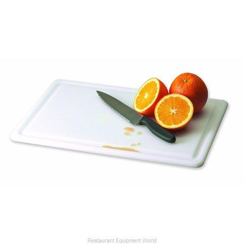 San Jamar CB121812GVWH Cutting Board, Plastic