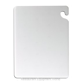 San Jamar CB121834WH Cutting Board, Plastic