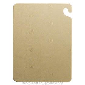 San Jamar CB182412BR Cutting Board, Plastic