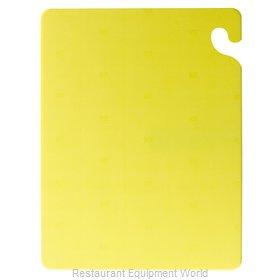 San Jamar CB182412YL Cutting Board, Plastic