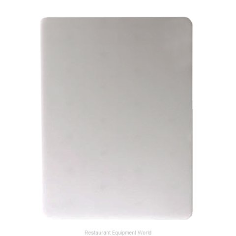 San Jamar CB18241WH Cutting Board, Plastic