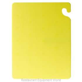San Jamar CB182434YL Cutting Board, Plastic