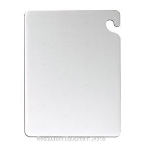 San Jamar CB183012WH Cutting Board, Plastic