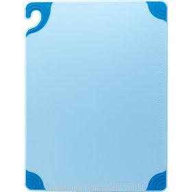 San Jamar CBG121812BL Cutting Board, Plastic