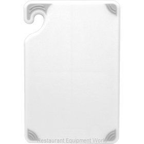 San Jamar CBG121812WH Cutting Board, Plastic