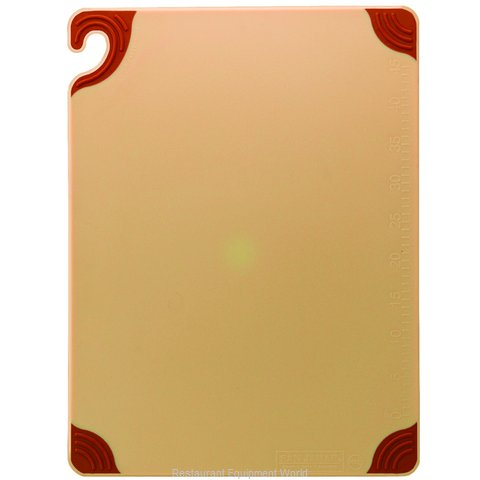 San Jamar CBG152012BR Cutting Board (Magnified)