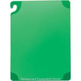 San Jamar CBG152012GN Cutting Board, Plastic