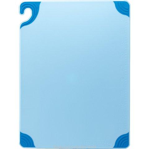 San Jamar CBG182412BL Cutting Board, Plastic