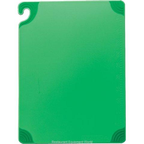 San Jamar CBG182412GN Cutting Board, Plastic