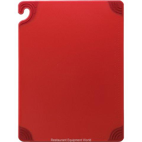 San Jamar CBG182412RD Cutting Board, Plastic