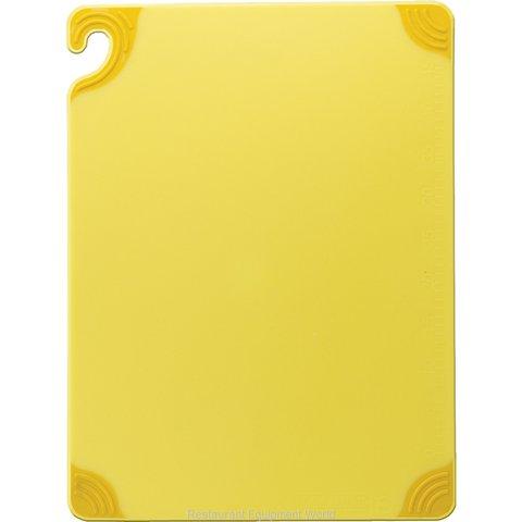 San Jamar CBG182412YL Cutting Board, Plastic