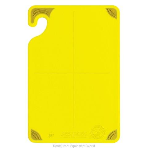 San Jamar CBG6938YL Cutting Board, Plastic