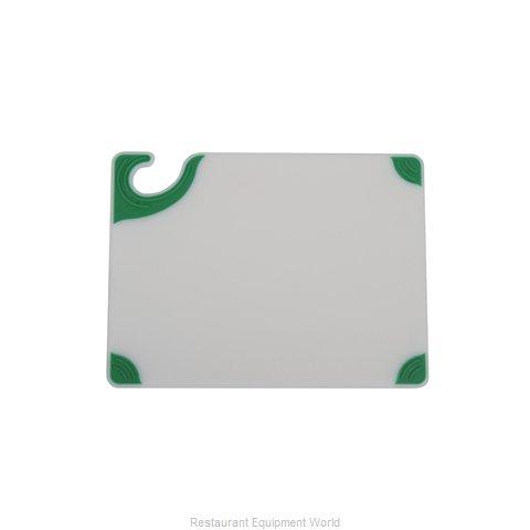 San Jamar CBGW152012GN Cutting Board, Plastic