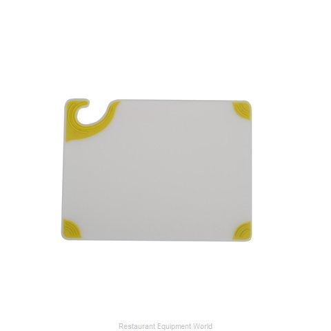 San Jamar CBGW152012YL Cutting Board, Plastic