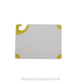 San Jamar CBGW912YL Cutting Board, Plastic