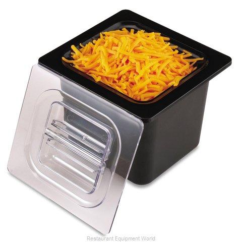 San Jamar CI7001BK Food Pan, Refrigerant Filled