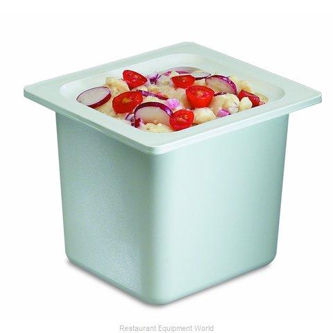 San Jamar CI7001WH Food Pan, Refrigerant Filled