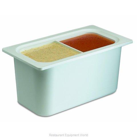 San Jamar CI7002WH Food Pan, Refrigerant Filled
