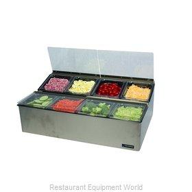 San Jamar FP9248FL Bar Condiment Server, Countertop
