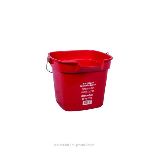 San Jamar KP320RD Bucket