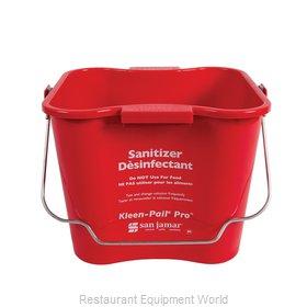San Jamar KPP256RD Bucket