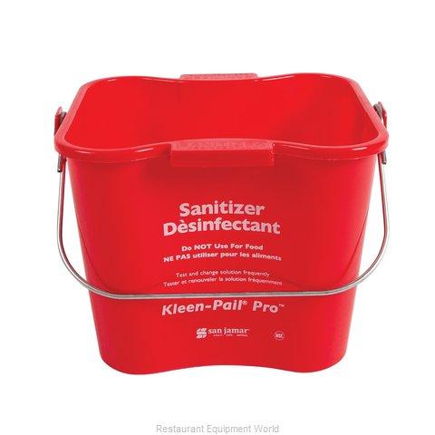 San Jamar KPP97RD Bucket