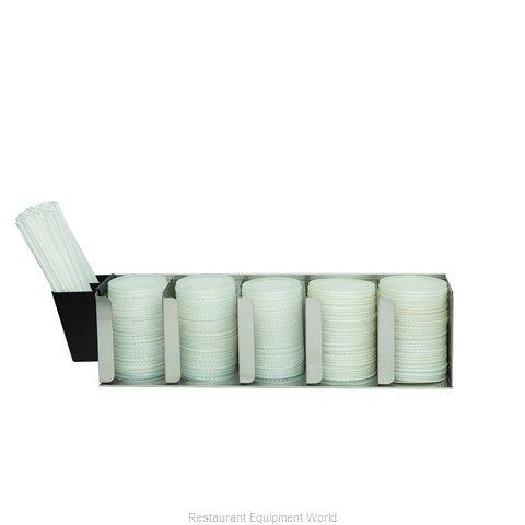 San Jamar L1022 Lid Dispenser, Countertop