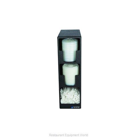 San Jamar L2202 Lid Dispenser, Countertop
