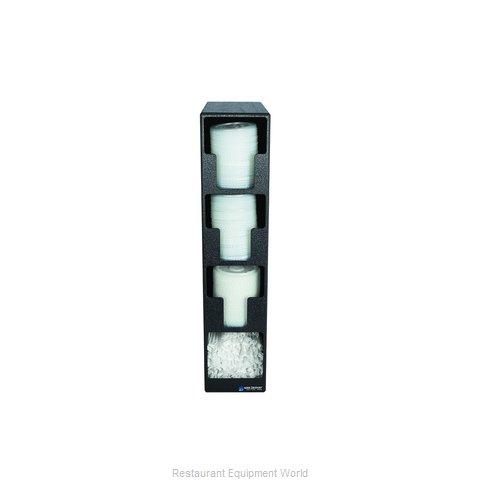 San Jamar L2203 Lid Dispenser, Countertop